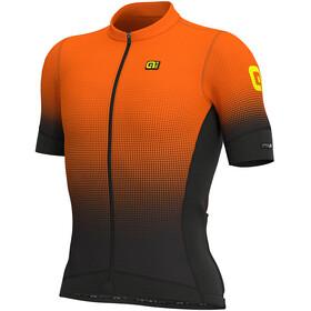 Alé Cycling PRS Dots SS Jersey Men black-flou orange